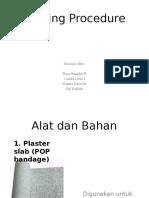 Casting Procedure of HDP