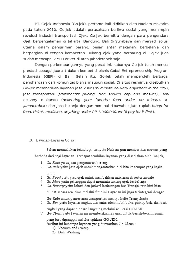 makalah bisnis plan unik