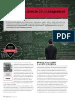 Big Data y La Ciencia Del Management