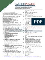 BANK of BARODA Quantitative Aptitude Memory Based Paper –Solutions