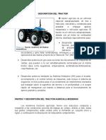 Descripción Del Tractor Agrícola