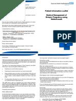 Ectopic Pregnancy Methotrexate Leaflet