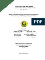 Proposal Dodol