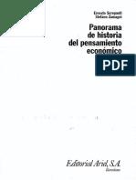 Panorama de La Historia Del Pensamiento Economico (Capitulo 1)