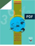 Unidades Didácticas para la Escuela Multigrado. Educación Matemática, 3º Básico.
