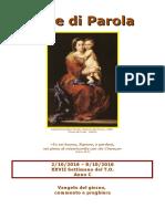 Sete di Parola - XXVII settimana C 2016.doc