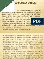 La Patología Social