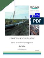 Nord Transport Gazoduc