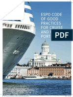 ESPO Code of Good Practices for Cruise and Ferry