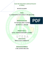 Administracion Publica Dominicana