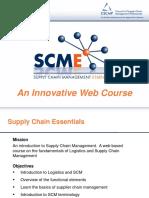 Supply Chain Essentials