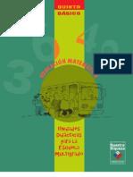 Unidades Didácticas para la Escuela Multigrado. Educación Matemática, 5º Básico.