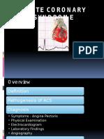 Acute Coronary Syndrome - Doni Friadi