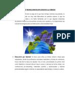 Avances Tecnologicos Aplicado a La Ciencia de Santiago 2016