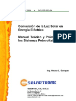 Conversion de La Energia Solar en Electric Id Ad