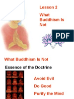 Buddhism for You-Lesson 02-What Buddhism is Not