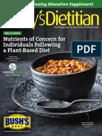 Nutrient Concerns for Vegetarians
