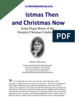 Christmas Then and Christmas Now