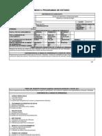 Carta Descriptiva Hidrología