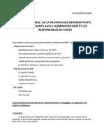 PV de La Réunion Du 29-12-2015 Avec COSSA Et L_administration