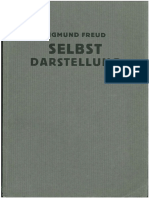 Sigmund Freud Selbstdarstellung