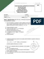 Examen I FS-381 2016 I