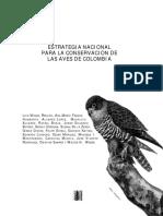 ESTRATEGIA NACIONAL PARA LA CONSERVACION DE AVES.pdf