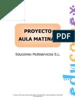 Proyecto Del Aula Matinal