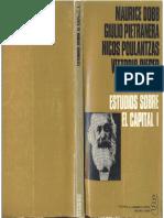 Dobb, Maurice y Otros - Estudios Sobre El Capital I, Ed. Signos, 1970