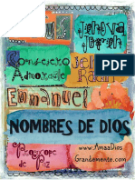 Nombres de Dios Niños