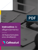Instuctivo Formulario 2016 Cafesalud