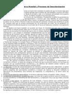 Derecho Político Unidad 7. Segunda Guerra Mundial y Procesos de Descolonización