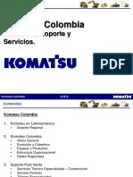 Productos, Soporte y Servicios Komatsu Colombia 2016