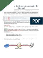 Aprendiendo Desde Cero a Usar Reglas Del Firewall