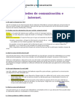 +UD3 Redes de comunicación e internet