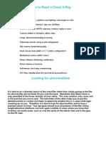 Radiology - Part 2 Interpretation & Pathology
