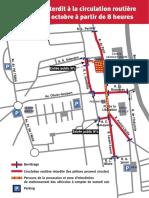 Plan de circulation à Saint-Etienne-du-Rouvray