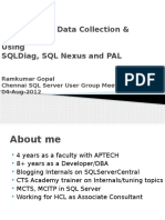 Sqldiag, SQL Nexus and Pal