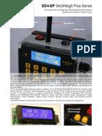 SkidWeigh Plus Series, ED4-EP 2P V2