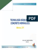 Tecnologia Basica Del Concreto
