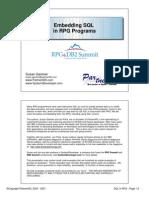 Embedded SQL (SQL EMBEBIDO en PROGRAMAS RPG)