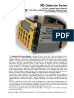 Forklift impact detection with  real time reports, IM3 RFID 2P V2