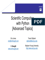 Scientific Computing With Python_Advanced Topics.ppt