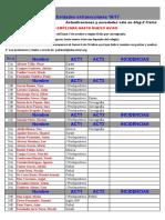 Listados Extraescolares 01-10-16