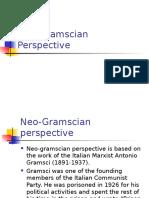 Neo-Gramscian Theory