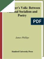 Heideggers Volk | Between National Socialism and Poetry