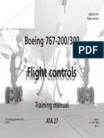 B767 - Flight Controls