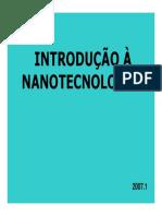 Nanotecnologia a última fronteira.