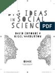 Edmonds Big Ideas in Social Science