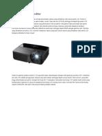 Cara Kerja LCD Proyektor